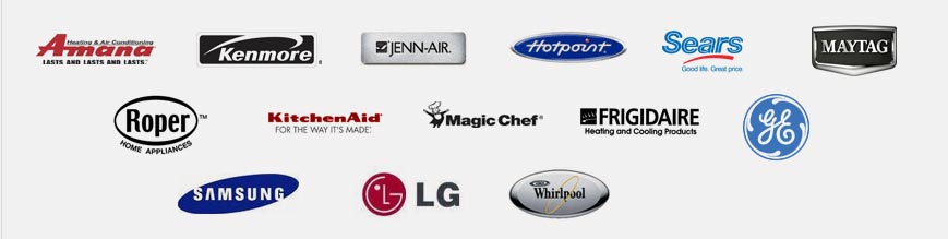 appliance brands we service